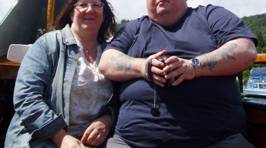Couple Lose 139kg After Humiliated Partner Crushed Chair at BBQ