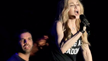 The Real Reason Drake Looked Repulsed By Madonna's Kiss