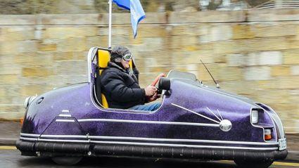 Pensioner Makes Dodgem Into Street-Legal Car
