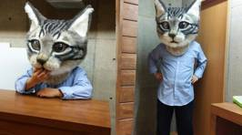 This Giant Wearable Cat Head Is What You Need For Your Next Costume Party