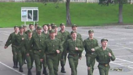 Russian Army 'Barbie Girl'