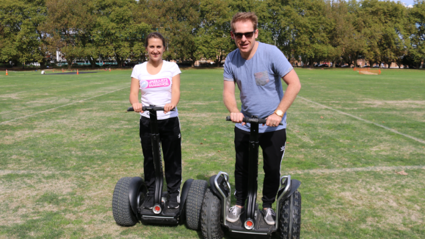 Segways after being on air for over 20 hours are always a good idea!