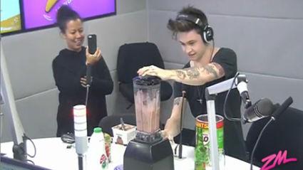 Reece Mastin Makes A Gross Milkshake With Guy and Georgia!