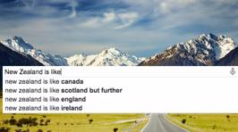 What People Are Googling About New Zealand