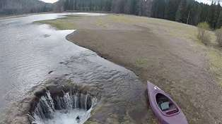 Oregon Lake Vanishes As 2-Metre Lava Tube Opens Up Beneath Water's Surface