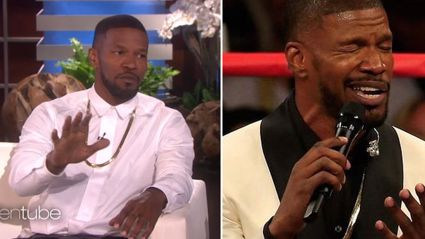 Jamie Foxx Explains Why He Sucked At Singing The National Anthem