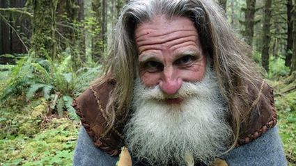Meet The Who Man Lives In A Tree Stump And Uses Pinecones To Brush His Teeth