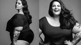Plus-Size Model Wants to Change the Industry With Her First Major Photo Shoot