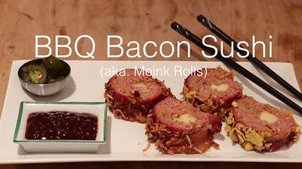 BBQ Bacon Sushi?