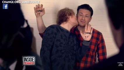 Jamie Oliver & Ed Sheeran Rap Together For #Foodrevolutionday