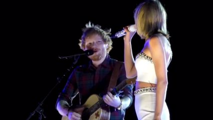 Watch Ed Sheeran Perform 'Tenerife Sea' Live With Taylor Swift