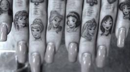 Gorgeous Disney Princess Tattoos