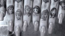 Gorgeous Disney Princess Tattoos