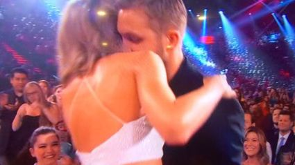 CUTE! Calvin Harris Congratulates Bae Taylor Swift After 'Bad Blood' Premieres