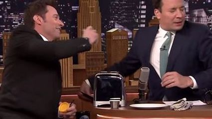 Watch Hugh Jackman Convince Jimmy Fallon That Vegemite is Actually Delicious