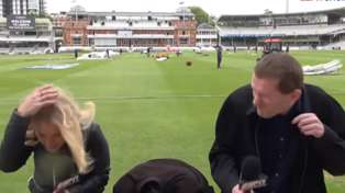 Tim Southee Hits Reporter At Cricket Practice At Lord's