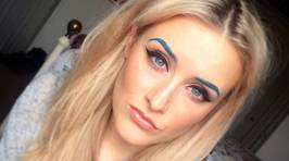 Think You Could Pull Off This New Eyebrow Dyeing Trend?