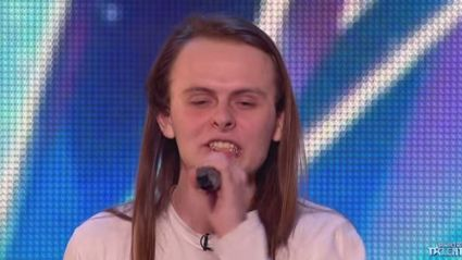 "This Guy Performed a Screamo Version of ""Let It Go"" on Britain's Got Talent"