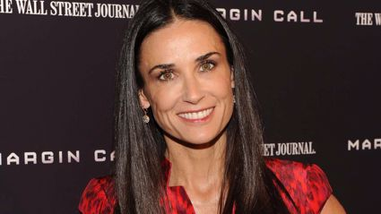 Demi Moore's Daughter Looks Exactly Like Her Daughter in 'Twinning' Photo