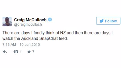 Kiwis Think Auckland's Snapchat Story Was BORING