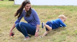 New Pics of Prince George & Kate Middleton Playing Make Us Go 'Awww'