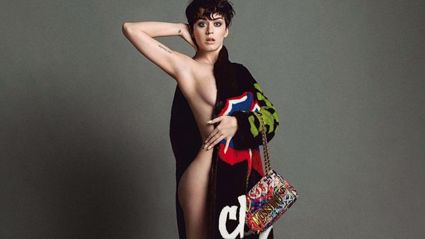 Katy Perry's Hot Moschino Campaign Photos