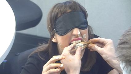 VIDEO: PJ's Super Awkward Blind Chicken Wing Date