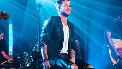 Adam Lambert Live For iHeartRadio