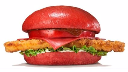 Burger King Japan Is Selling Burgers With Red Buns and Cheese 'Cause They Can