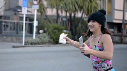 ZMTV - PJ Leaves Hot Tub to Make KFC Run in Queenstown