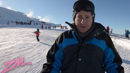 ZMTV - Jase's First Ever Skiing Lesson In Queenstown