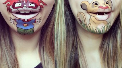 This Woman Makes Her Mouth Into Awesome 90's Cartoon Characters