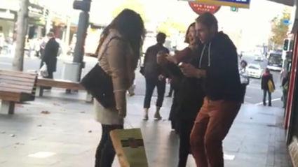 VIDEO: Jase Samples Perfume On The Street