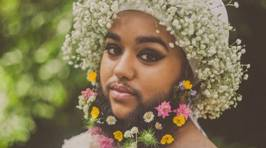 Meet the Bearded Bride Embracing Her Beauty