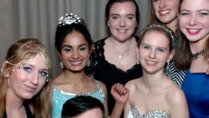 Onehunga High School Ball Photobooth Photos