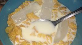 Putting Ice Cubes In Your Cereal Is A Thing...
