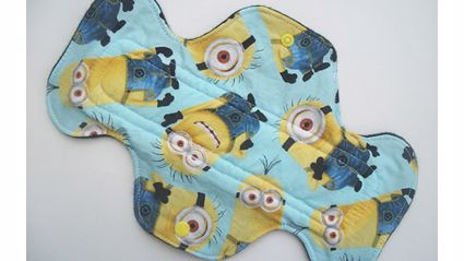 """""""Minions"""" Maxi Pads Exist...Why..."""