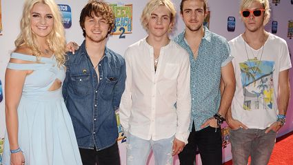 LISTEN - Guy & Georgia catch up with Riker from R5!