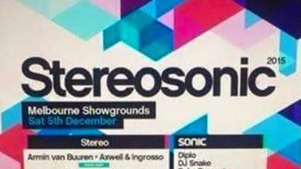 The Stereosonic 2015 Lineup Has Apparently Been Leaked