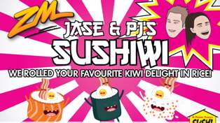 Jase & PJ's 'Sushiwi' Coming To A Store Near You!