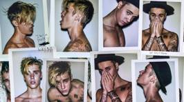 "Justin Bieber's Racy Photo Shoot For ""Interview"" Magazine"