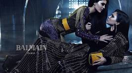 Kendall and Kylie Jenner Look Amazing In the New Balmain Ad Campaign