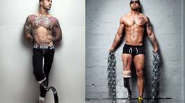 Photographer Captures Amputee War Veterans Posing Naked and Proudly Revealing Their Injuries In Powerful Picture Series