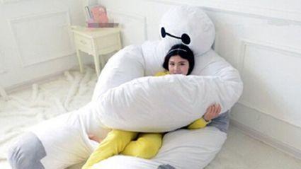 We Need This Big Hero 6 Baymax Pillow/Mattress