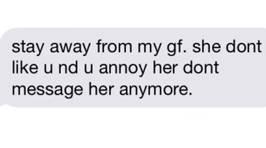 Jealous Boyfriend Texts Girlfriend's Coworker And Instantly Regrets It