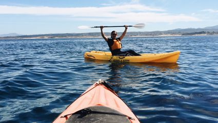Guy Loses His iPhone Kayaking & Gets It Back After It's Spent 1 1/2 Months In the Ocean