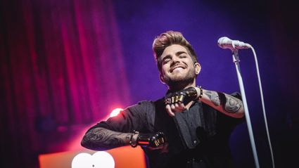 PHOTOS: Adam Lambert Live For iHeartRadio