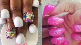 3D 'Bubble Nails' Are Taking Over As the Latest Manicure Trend