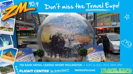 WELLINGTON - Travel Expo Snow Globe
