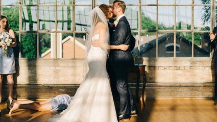 Fainting Bridesmaid Steals Thunder